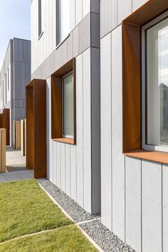 Liverpool-based architecture studio ShedKM was behind the developer's first attempt to explore how off-site fabrication could help to deliver affordable and customisable housing solutions.
