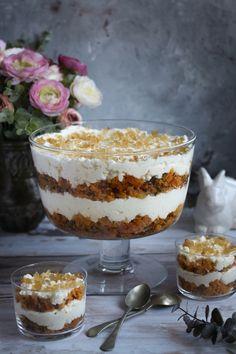 Good Food, Yummy Food, Tiramisu, Trifle, Ethnic Recipes, Foods, Food Food, Food Items, Delicious Food