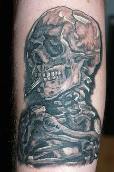 Smoke Tattoo, Picture Tattoos, Tattoo Designs, Skull, Portrait, Pictures, Photos, Headshot Photography, Portrait Paintings