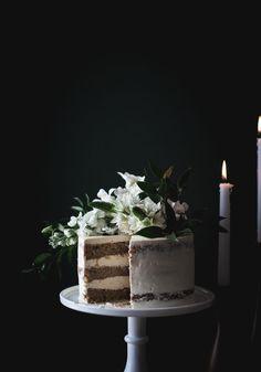 Hummingbird Cake + Lavender Swiss Meringue Buttercream (GF) - The Kitchen McCabe