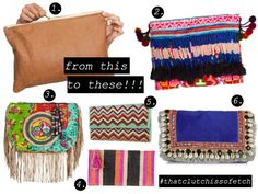 DIY INSPIRATIONS • upcycling pencil cases or clutches in to beautiful embellished clutches!!! Part 1 up now on http://ampeddandangerous.blogspot.com.au/2012/05/diy-embellished-clutch-part-1.html