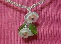 glass flowers, tutorials, plastic, bead, necklaces, flower tutorial, leaves, shrinki dink, earrings