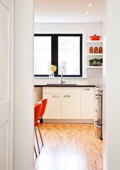 Ikea Kitchen. window