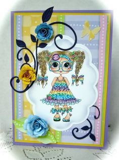 Bestie card by Donna Ellis