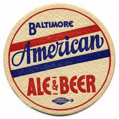 The American Brewing Company. Label Design, Logo Design, Design Packaging, Signage Design, Package Design, Design Design, Sous Bock, Vintage Graphic Design, Vintage Type