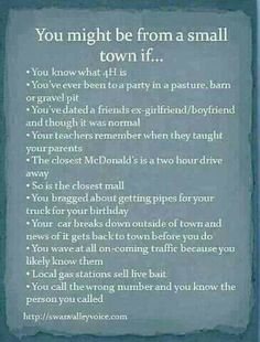 93 Best Small Town Life Images Small Town Quotes Words Country Girls