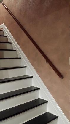 Wall Mount Modern Stair Hand Rail Staircase Railing Kit - Aluminium Stairs Skirting, Stair Railing Kits, Staircase Railings, Staircase Design, Staircases, Staircase Ideas, Diy Stair, Staircase Runner, Stair Design