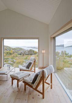 Where to Hygge Next: This Norwegian Island Resort - Househomedecoration Interior Architecture, Interior And Exterior, Interior Design, Küchen Design, House Design, Living Area, Living Spaces, Living Room, Scandinavian Style