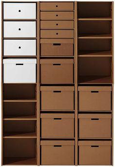 cardboard furniture via boxtopia                                                                                                                                                                                 More