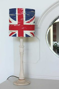 Union Jack Drum Lampshade