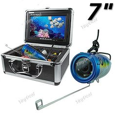 """7"""" TFT LCD Visible Underwater Video Camera Fish Finder"""