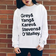 Grey Yang Squad Sweatshirt