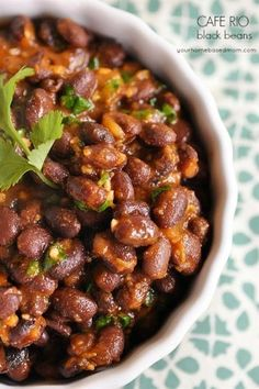 Cafe Rio Black Beans are delicious and easy to make and taste just like the restaurant version.