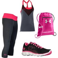 """under armour"" I want all of this!"