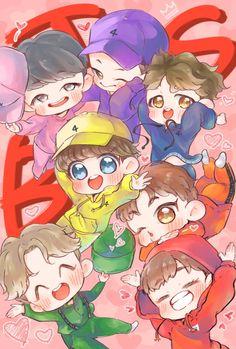 """もちゃ(mocha)福岡両日 on Twitter: """"happybirthday BTS!! happybirthday ARMY!! #HappyBTSbirthday #4yearswithBTS #btsfanart https://t.co/hMVP4DN83u"""""""
