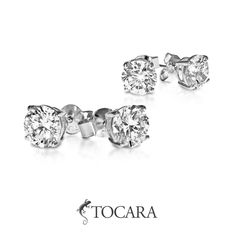 TOCARA offers stud earrings to suit every taste and style Argent Sterling, Sterling Silver, Fine Jewelry, Jewellery, Jewelry Companies, Love Your Life, Styles, Live For Yourself, Your Style