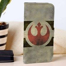 Rebel Alliance | Star Wars | custom wallet case for iphone 4/4s 5 5s 5c 6 6plus case and samsung galaxy s3 s4 s5 s6 case