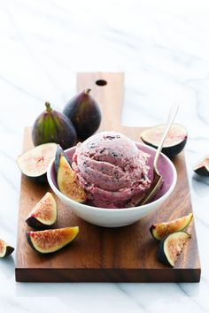 Fig Ice Cream with Chocolate Flecks Fresh Fig Ice Cream with Chocolate ShardsFig Tree A fig tree is any of about 850 species of woody trees in the genus Ficus. Fig Tree or Figtree may also refer to: Ice Cream Desserts, Frozen Desserts, Ice Cream Recipes, Fig Recipes, Dessert Recipes, Waffle Recipes, Cake Recipes, Granita, Vegans