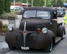 Dodge pick-up truck – I want!