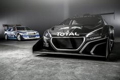 Peugeot Sport has built a special edition that will compete at the Pikes Peak International Hill Climb on June raced by rally champion Sébastien Loeb. Peugeot 208, Sport Cars, Race Cars, Gt Cars, Sport Bikes, Diesel, Pikes Peak, Car Magazine, Latest Cars