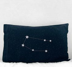 constellation pillows