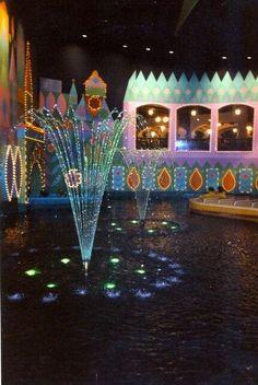Walt Disney World, It's A Small World fountain, 1970s-80s.