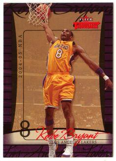 Kobe Bryant # 10 - 2004-05 Fleer Throwbacks Basketball
