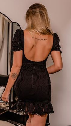 Backless, Black, Dresses, Fashion, Gowns, Moda, Black People, La Mode, Dress