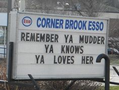 Happy Mother's Day from Corner Brook, Newfoundland! Visit Canada, O Canada, Canada Travel, Newfoundland Canada, Newfoundland And Labrador, I Am Canadian, Canadian Humour, All About Canada, Atlantic Canada
