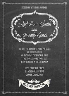 Free Printable Wedding Invitations to Download | StyleCaster