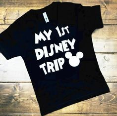 My first disney trip, disney kids shirt, disneyland shirt, disneyworld shirt, disney matching shirt, disney trip, Shirts for boys and girls