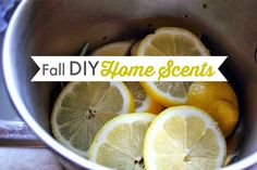 5 DIY Home Scent Recipes for Fall