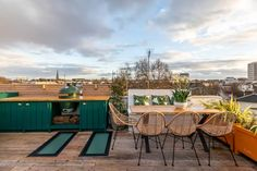 Barlow and Barlow Notting Hill house | House & Garden London Townhouse, London House, Ipe Decking, Townhouse Designs, Downtown New York, House On A Hill, House 2, Rooftop Garden, Outdoor Living