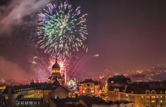 Beautiful fireworks show takes place in Avram Iancu Square in Cluj Napoca © Radu Razvan / Shutterstock Capital Of Romania, Visit Romania, Medieval Fortress, Life Cover, Cultural Capital, Fireworks Show, Local Events, Fourth Of July, December 1st