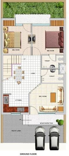 Duplex floor plans indian duplex house design duplex for Home designs kashmir