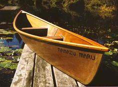 Cajun canoe - pirogue