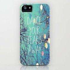 Dance Your Fears Away iPhone Case by Erin Jordan | Society6