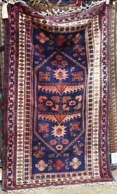 """Turkish carpet, Turkish carpet, 6'3"""" x 3'9"""""""