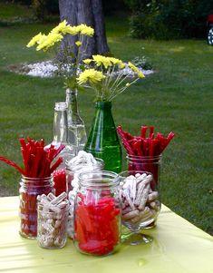 Backyard Bbq Wedding Menu Mason Jars New Ideas Bbq Party Menu, Bbq Menu, Cottage Party, Canada Day Party, Backyard Bbq, Backyard Parties, Backyard Movie, Wedding Backyard, Outdoor Parties