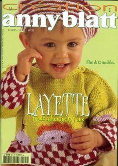 Receita Tricô Fácil   Revista de Tricô para Bebês(Em ingles)     Creation Annyblatt-Revista Tricô Criação annyblatt Para Bebês          ...