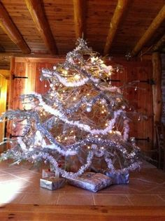 Christmas tree, Chanteloube, 2012.