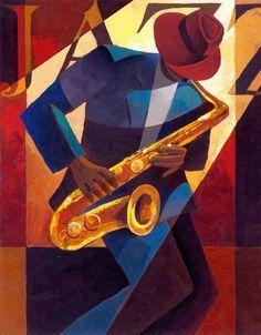 Afro-American-Keith Mallett