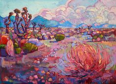 Artist Erin Hanson began to study oil painting when she was only eight years old. By the age of ten, she had completed her first paid commission. Her portfolio of work only grew from there, and after graduating from UC Berkeley, the creative established open-impressionism—her own distinct style of painting. Before long, other artists started emulating Hanson's technique and she was credited as the inventor of this contemporary style. Since that time, Hanson's continued to pursue her…