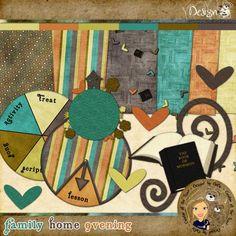 LDS Blog Train   Family Home Evening ~ DesignZ by DeDe