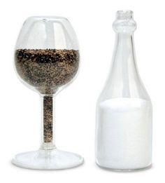 awesome wine salt and pepper shakers