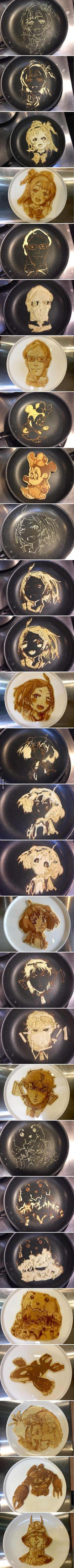 Pancake Art - 9GAG