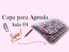 Como Fazer - Capa para Agenda com Porta Caneta #Aula04 - YouTube