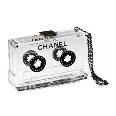 Behold The Chanel Cassette Clutch ❤ liked on Polyvore featuring bags, handbags, clutches, chanel, accessories, purses, fox purse, man bag, chanel purse and chanel handbags