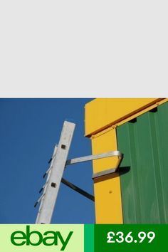Universal Stand-Off V-shaped Downpipe - Aluminium Ladder Accessory, Easy Fitting