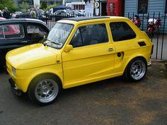1980 Fiat 500 custom Fiat 500, Yellow Car, Rusty Cars, Indoor Swimming Pools, Unique Cars, Super Sport, Retro Cars, Go Kart, Cars And Motorcycles
